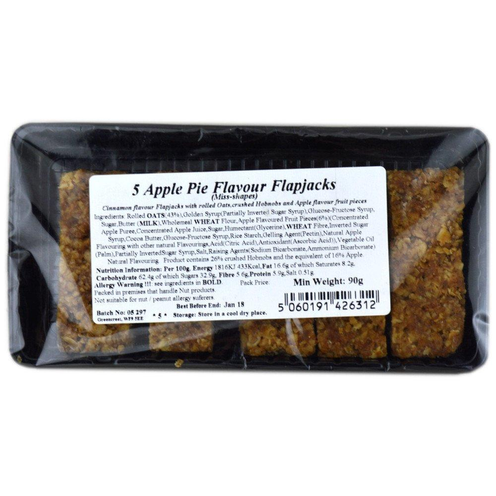 Perfectly Good 5 Apple Pie Flavour Flapjacks 90g