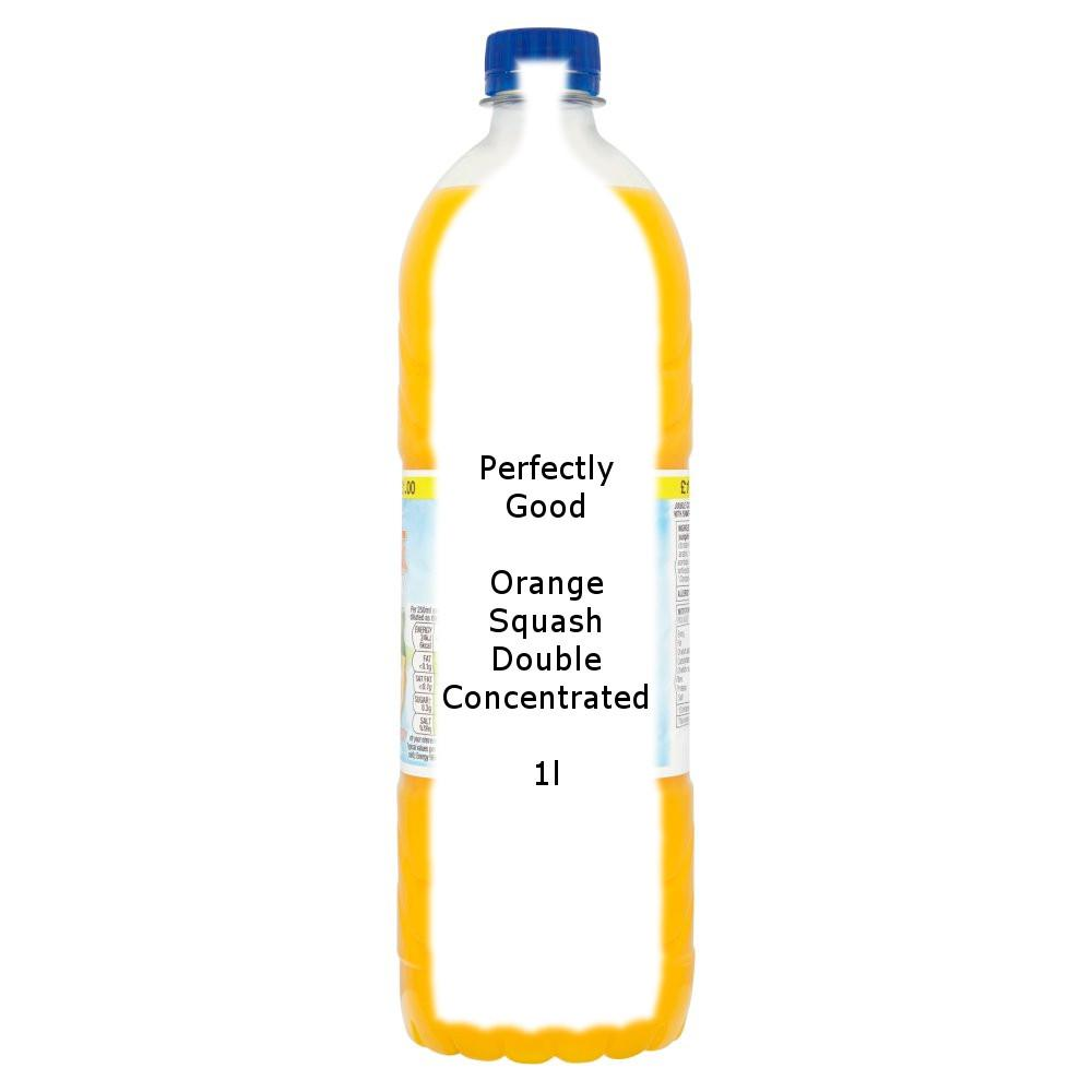 Perfectly Good Orange Squash Double Concentrated 1l