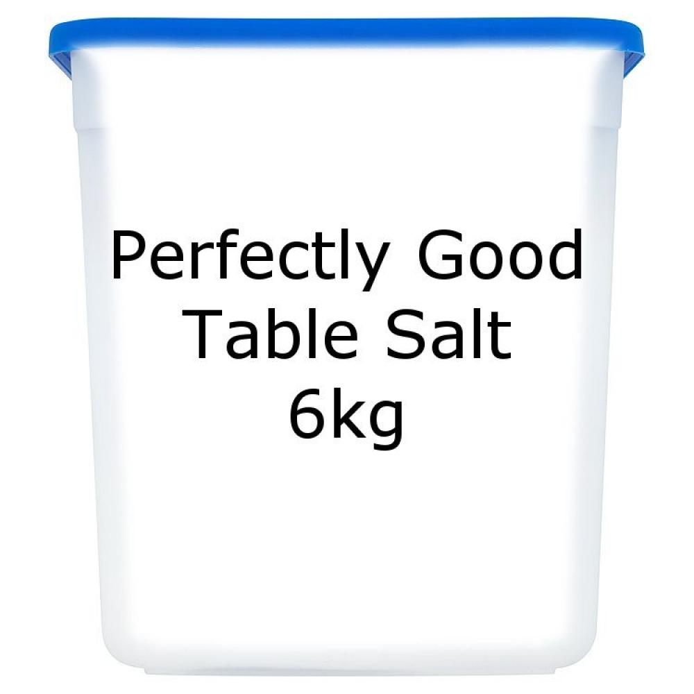 Perfectly Good Table Salt 6kg