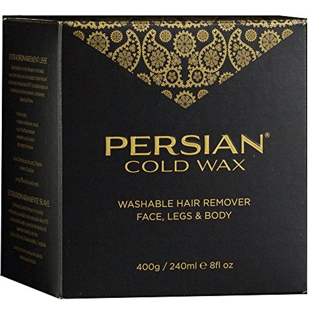 Persian Cold Wax KitHair Removal Sugar Wax for Fine to Medium Hair Types 240ml