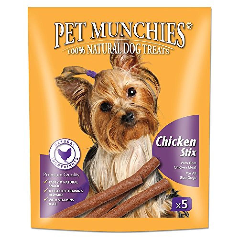 Pet Munchies Chicken Stix x5 50 g