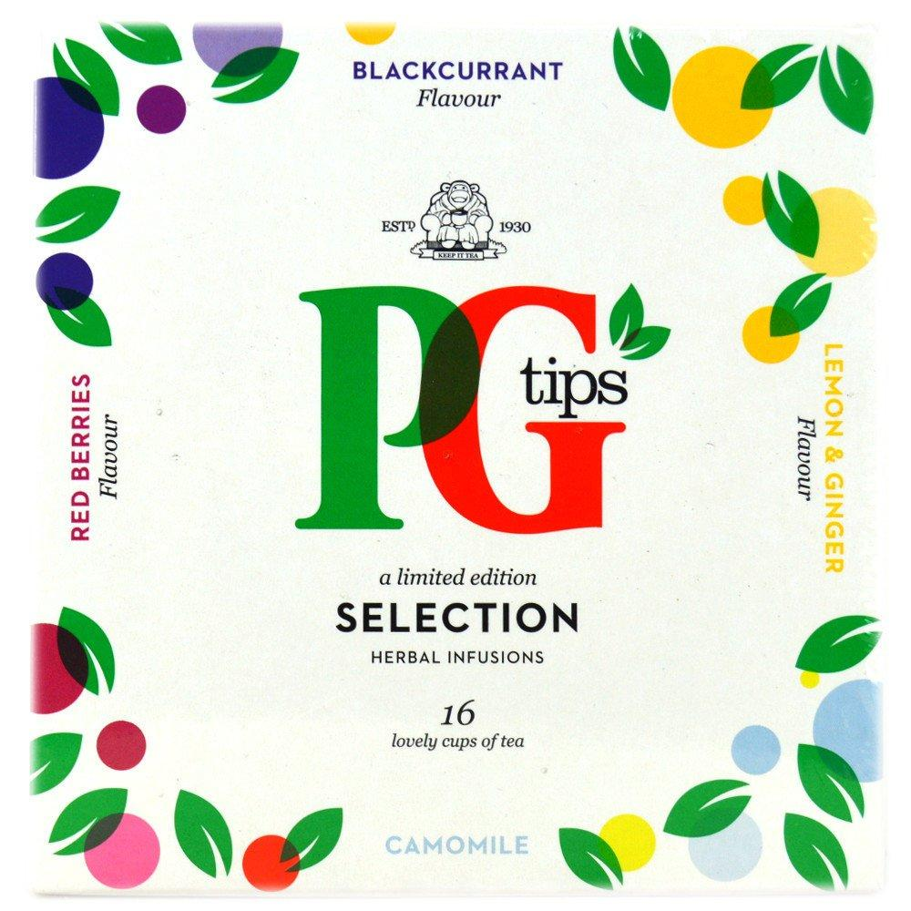 PG Tips Herbal Infusions 16 bags