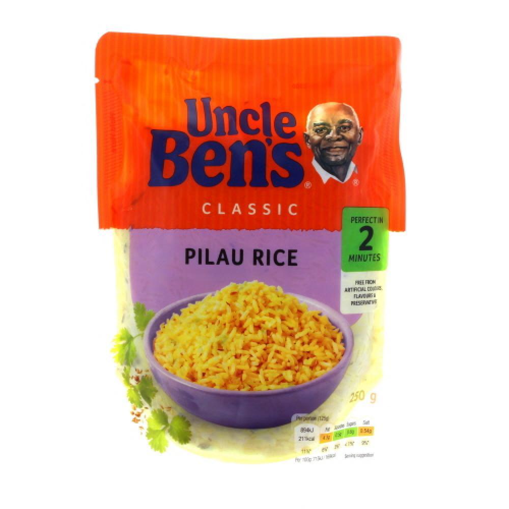 Uncle Bens Pilau Rice 130g
