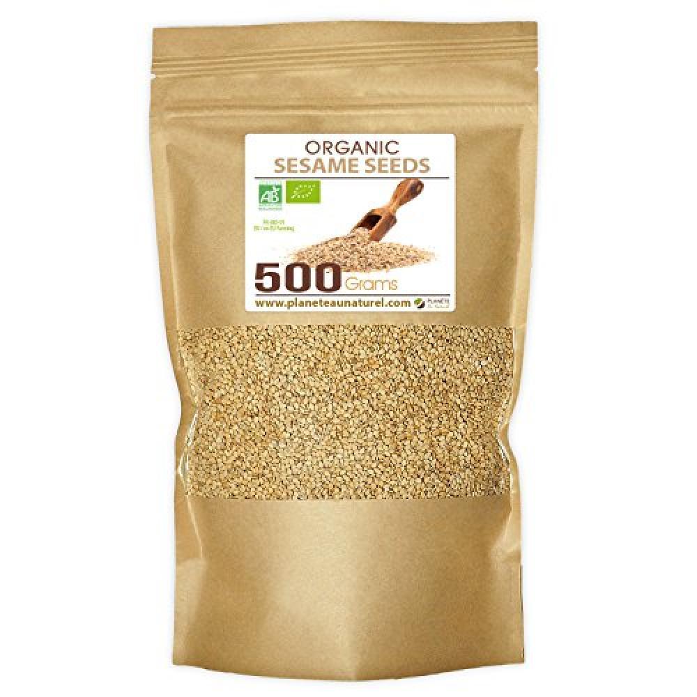Planete Au Natural Organic Sesame Seeds 500g