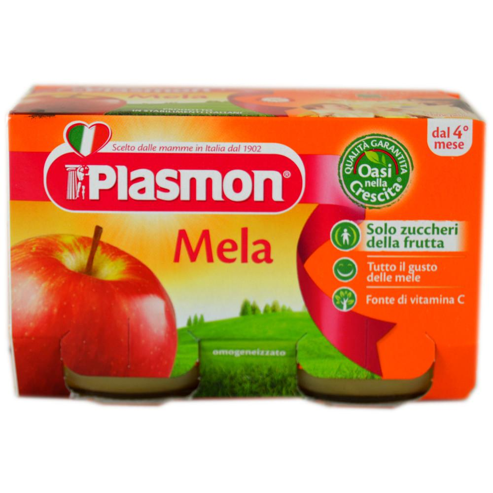 Plasmon Mela - Apple 104g x 2