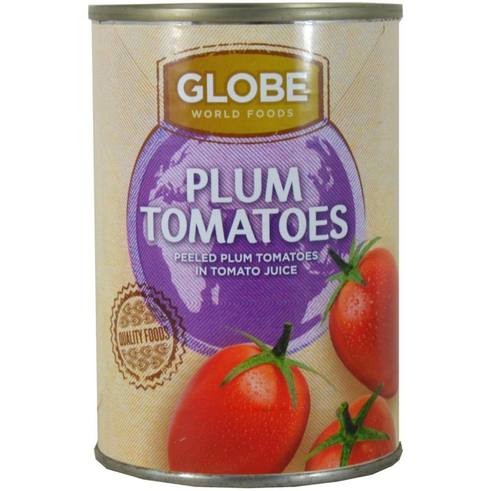 Globe World Foods Plum Tomatoes 400g