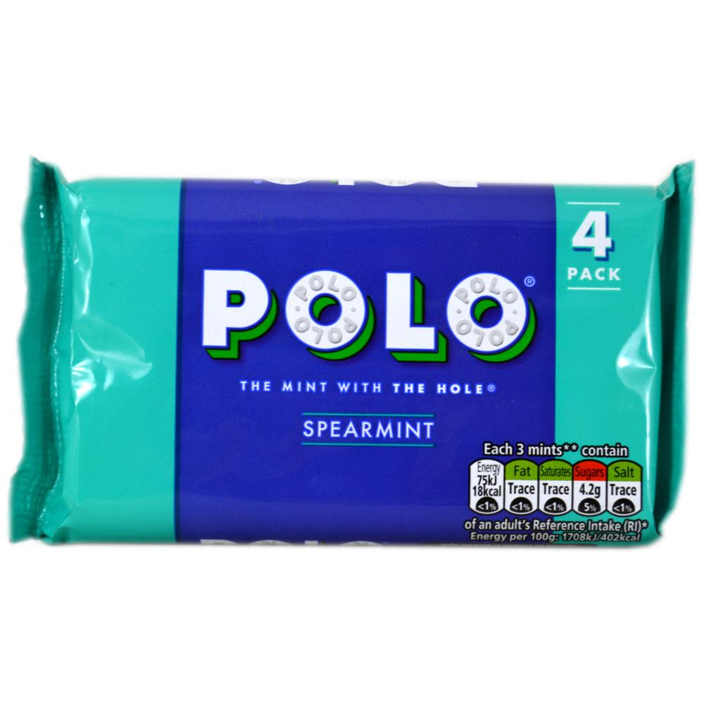 Polo Spearmint 34g x 4