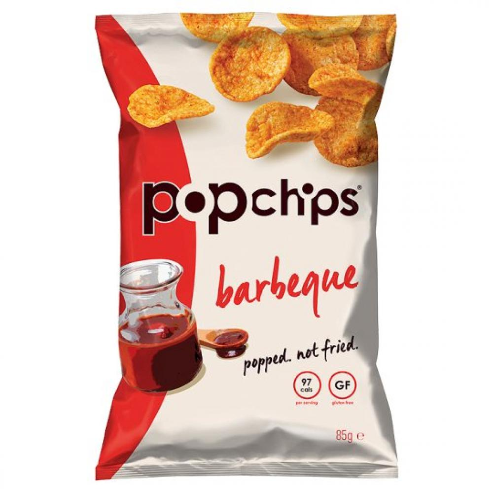 Popchips Barbecue Popped Chips 85g