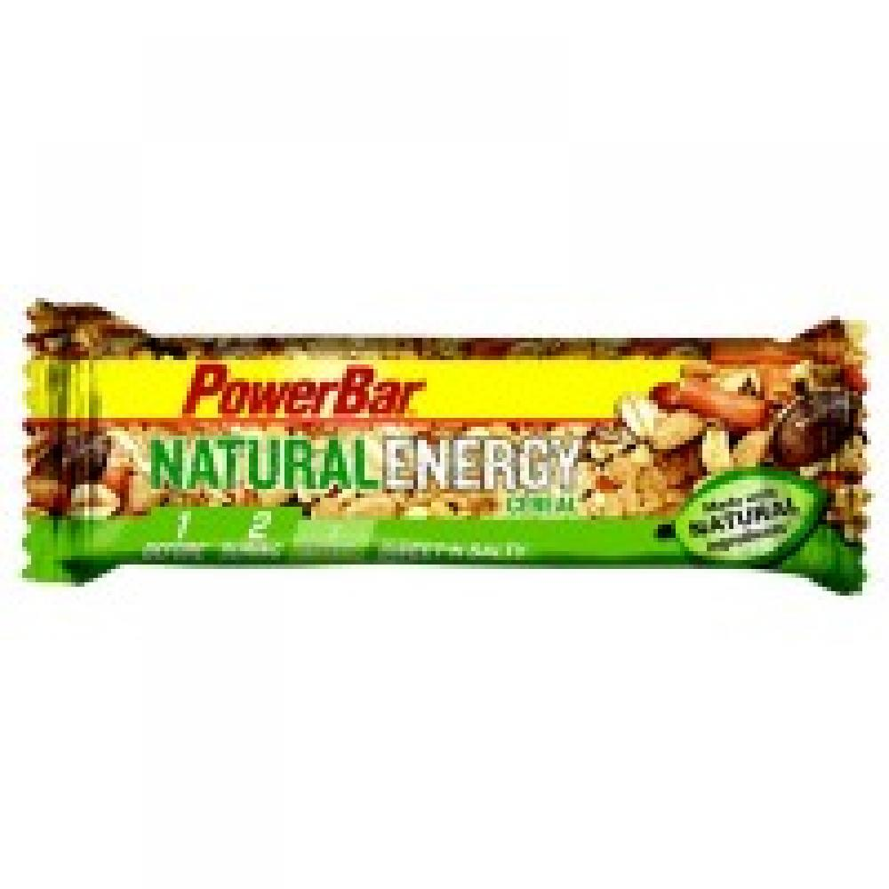 Power Bar Natural Long Lasting Energy - 40 g Bar Sweet Salty Seeds and Pretzels