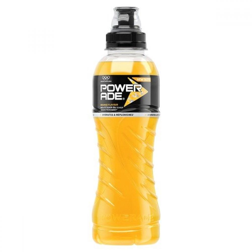 Powerade Powerade Orange Flavour 500ml  500ml