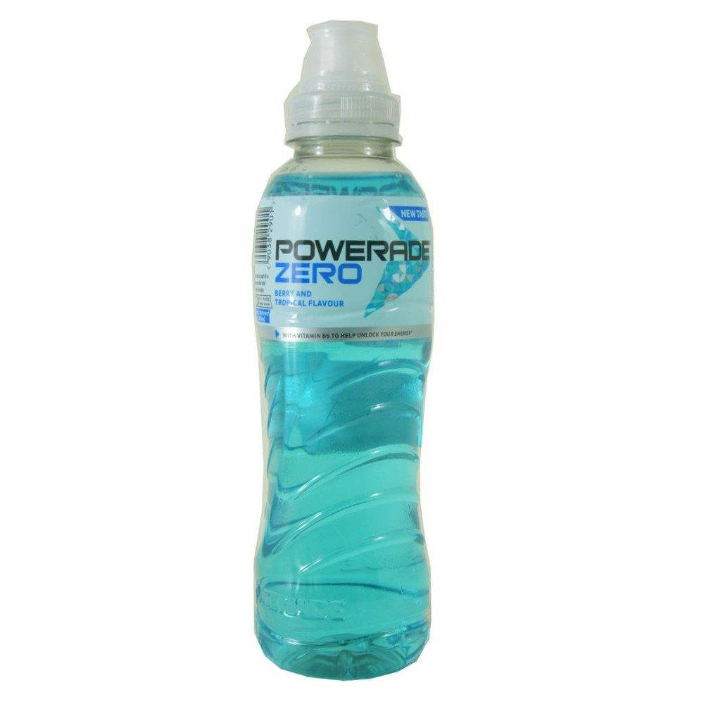 Powerade Zero Berry and Tropical 500ml