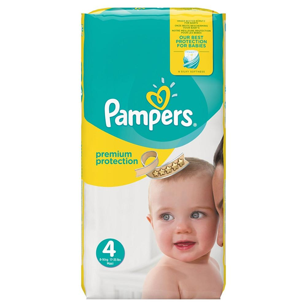Pampers Premium Protection Size 4 Pack Of 56