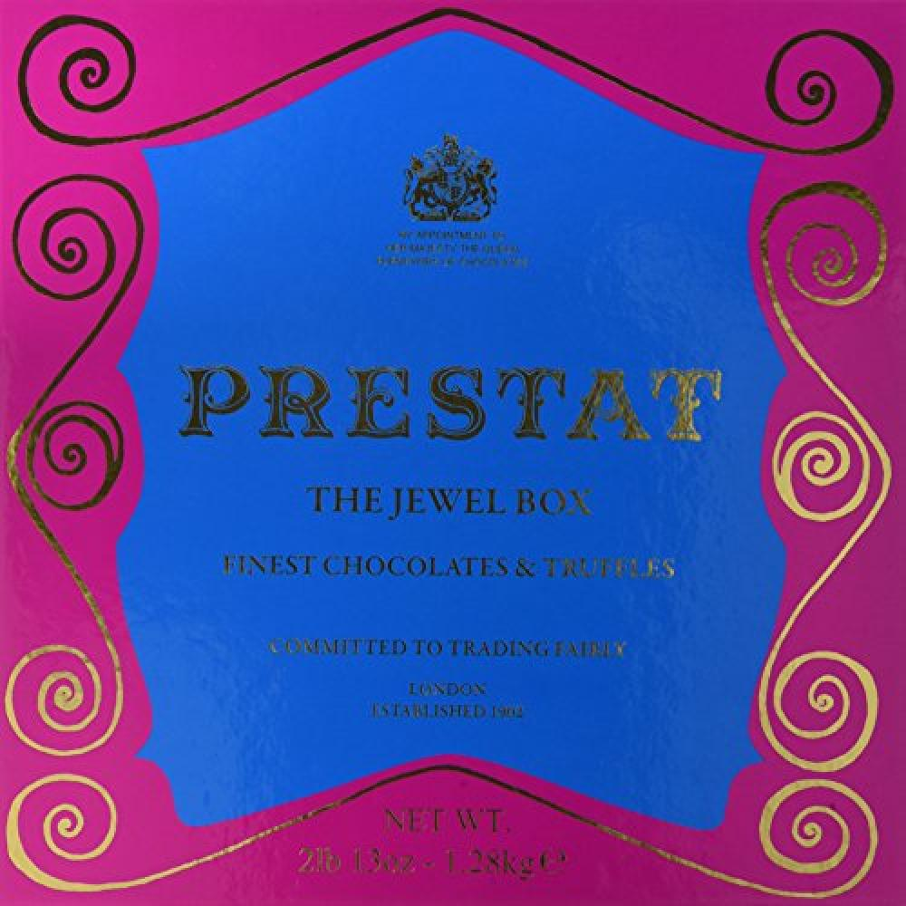 Prestat Finest Chocolates and Truffles in The Jewel Box 98 pieces