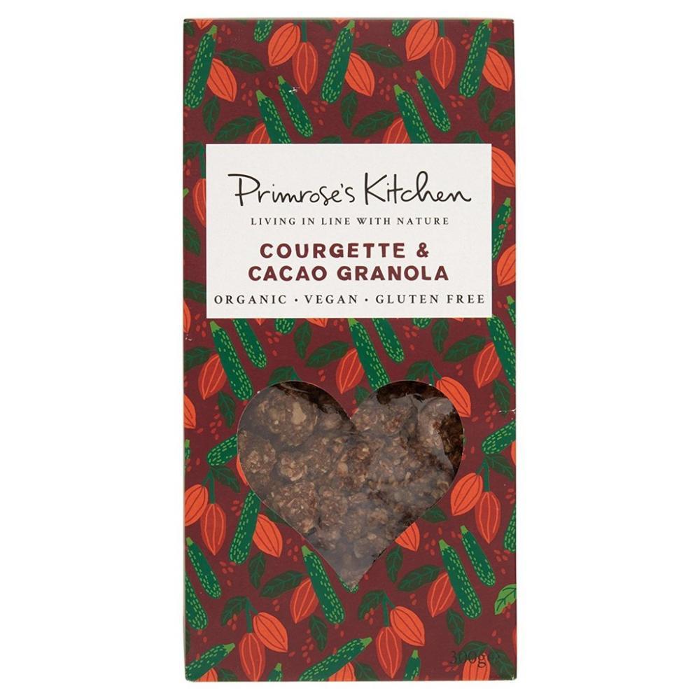 Primroses Kitchen Courgette And Cacao Granola 300g