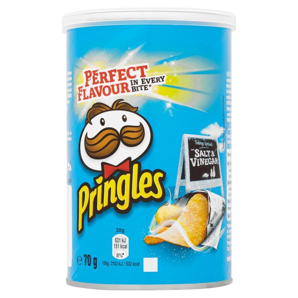 Pringles Salt and Vinegar 70g
