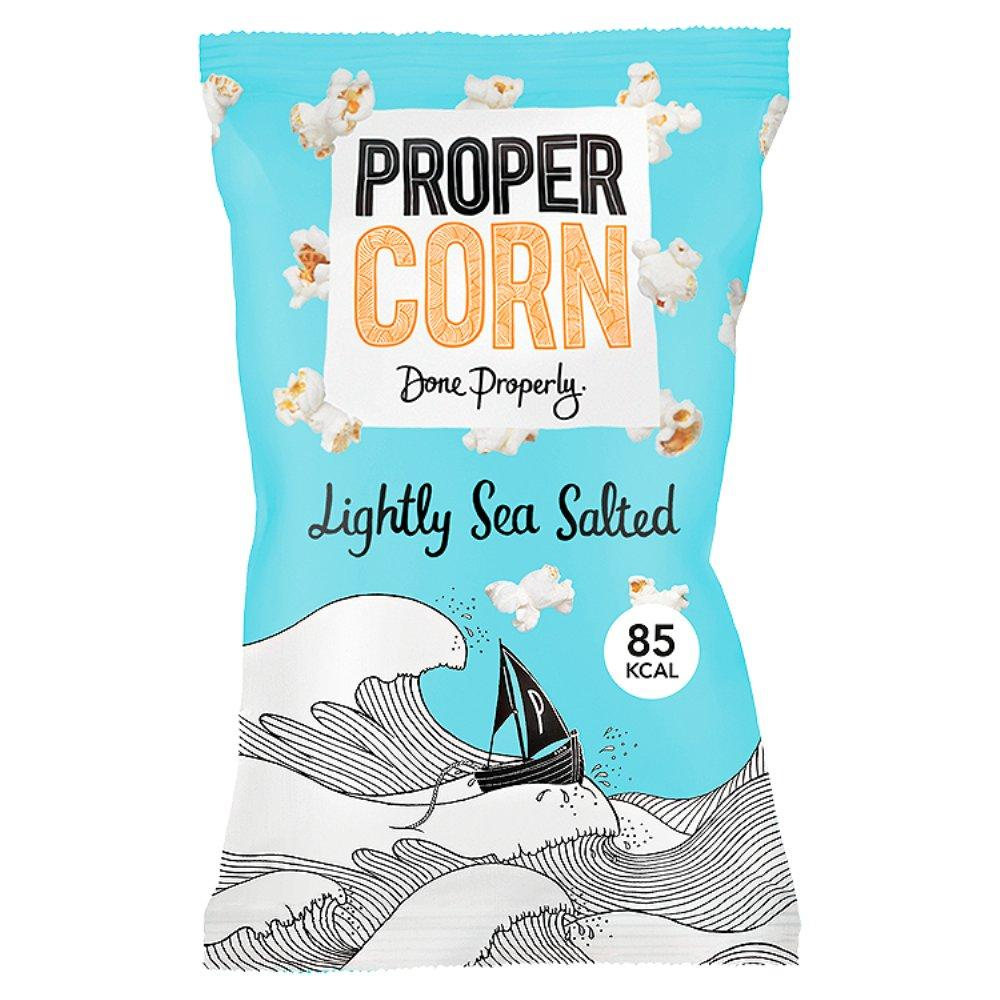 Propercorn Lightly Sea Salted Popcorn 20g