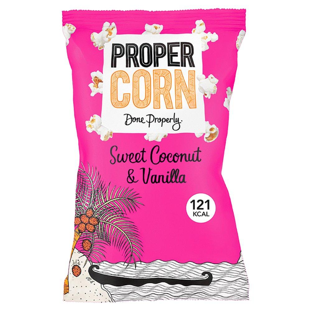 Propercorn Sweet Coconut And Vanilla 25g