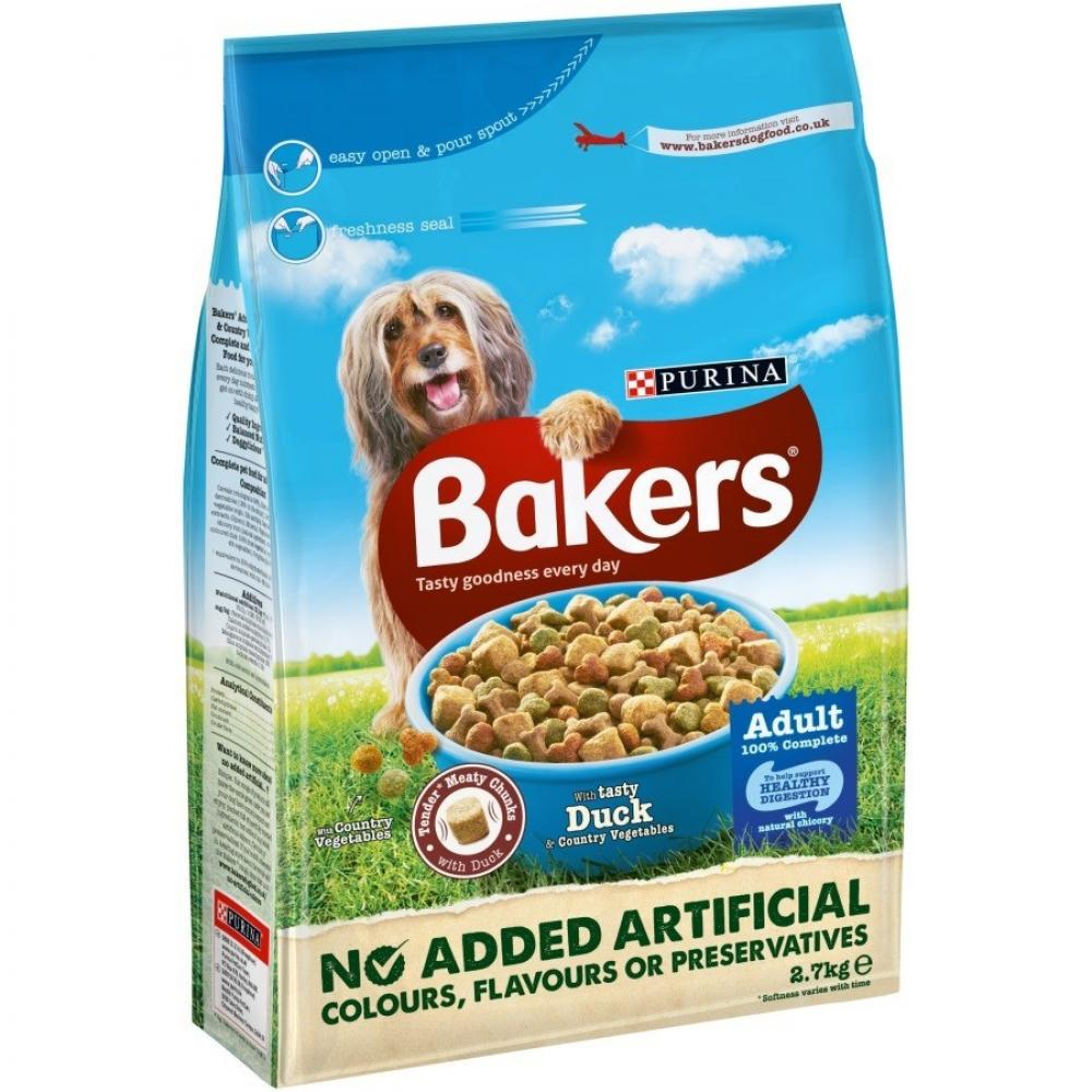 Purina Bakers Complete Adult Duck and Vegetables 2.7kg