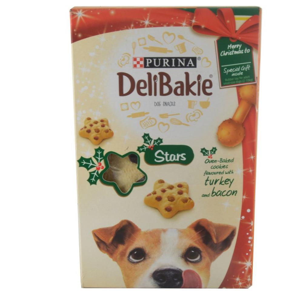 Purina Delibakie Stars Turkey and Bacon 270g