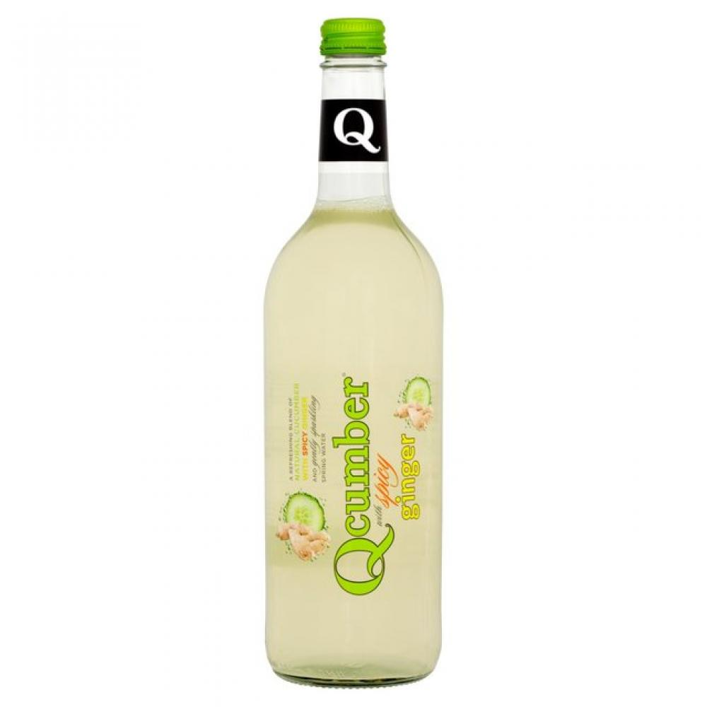Qcumber with Spicy Ginger 750ml