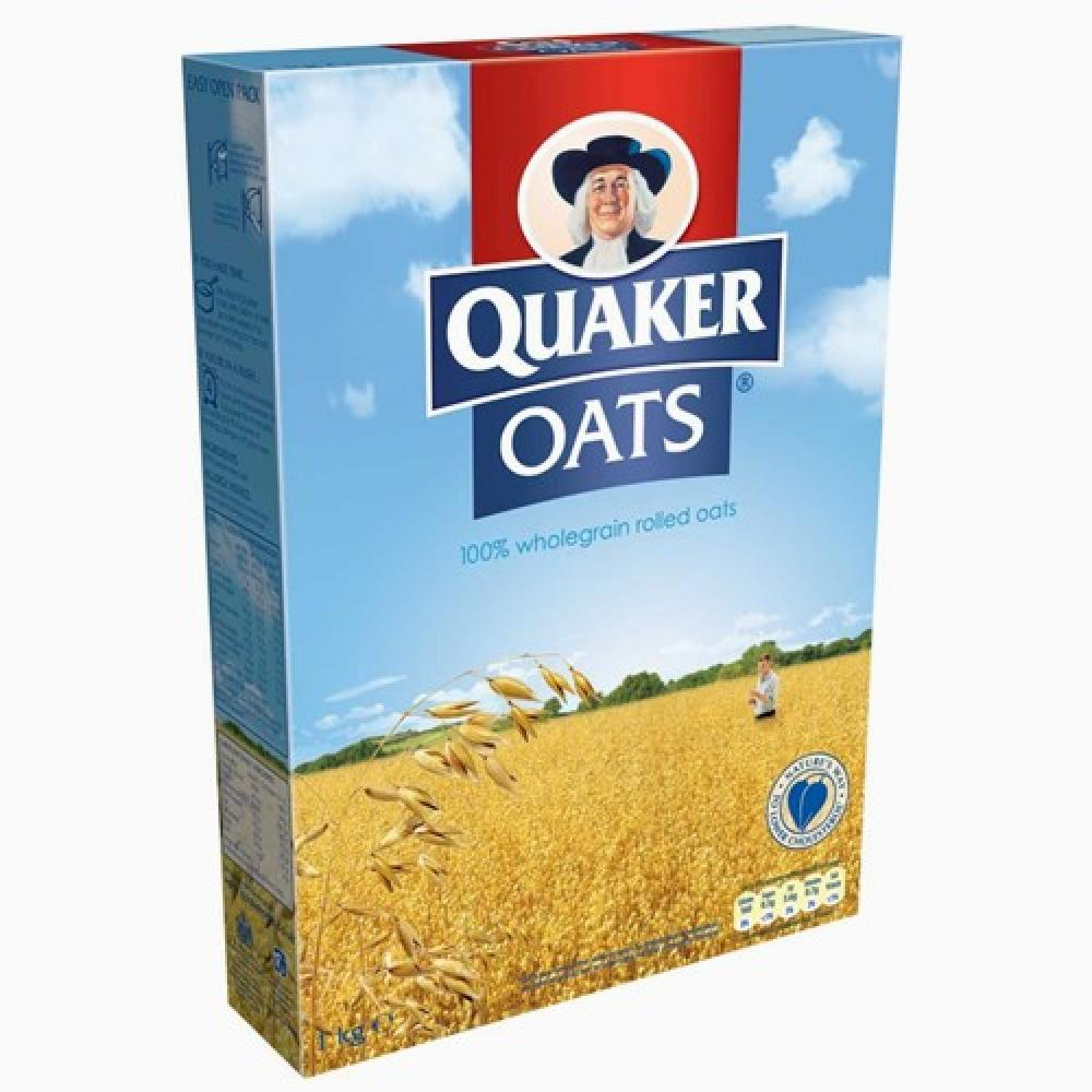 Quaker Oats Wholegrain Rolled Oats 1kg 1kg