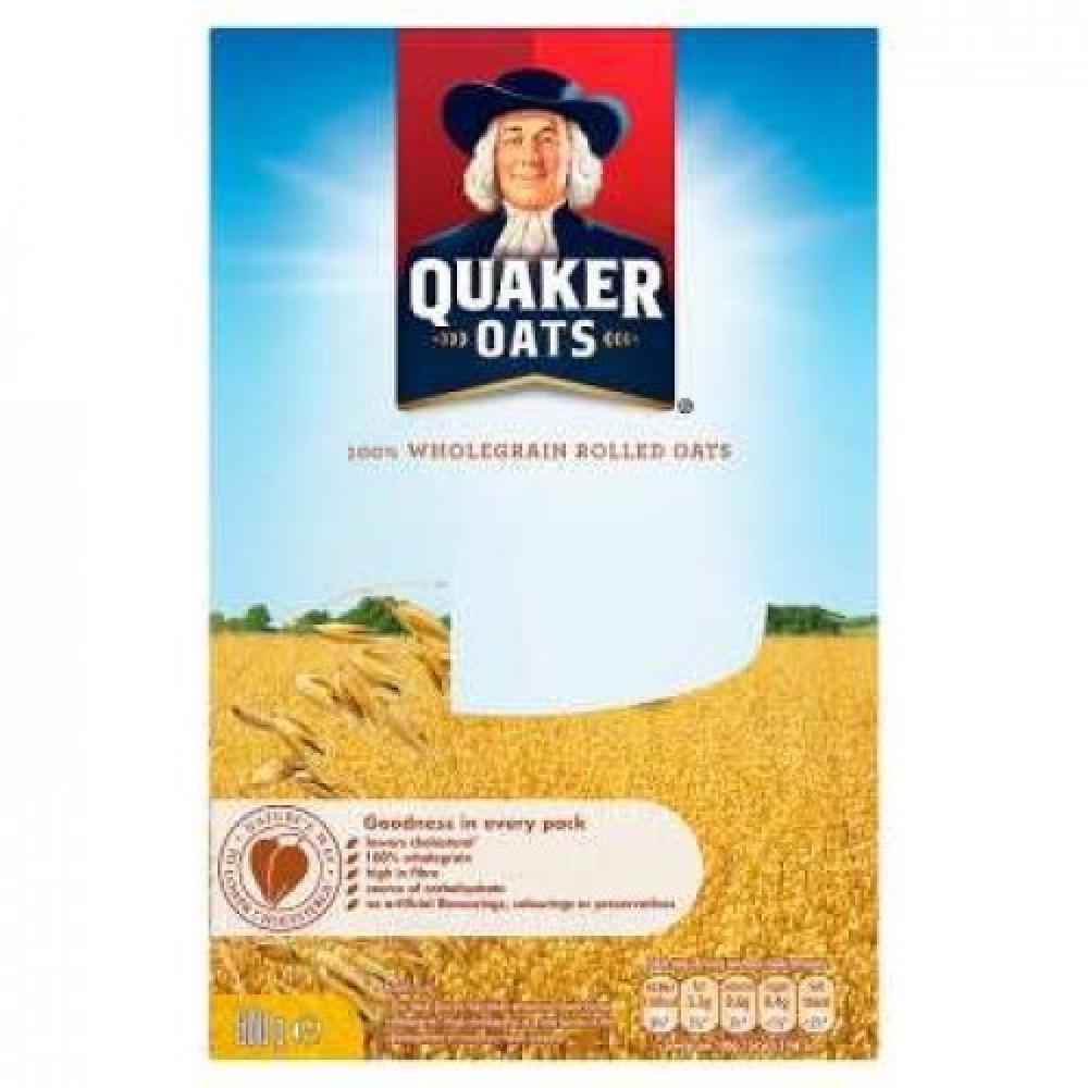 Quaker Oats Wholegrain Rolled Oats 500g