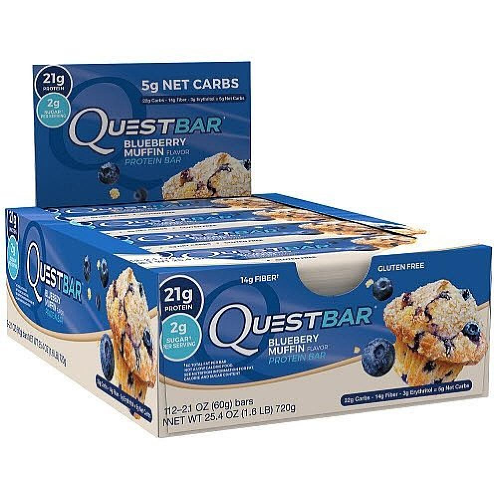 Quest Bar Blueberry Muffin Protein Bar 60g