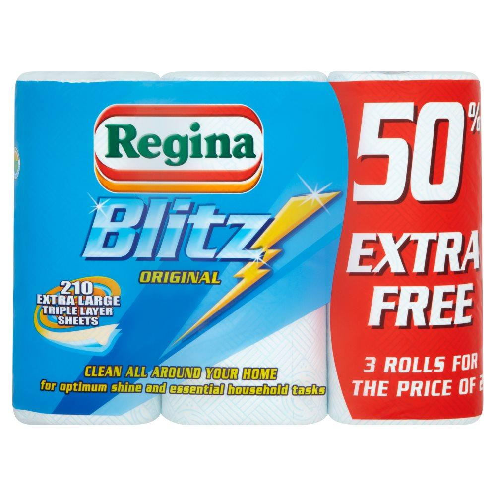 Regina Regina Blitz 3 Original Kitchen Rolls