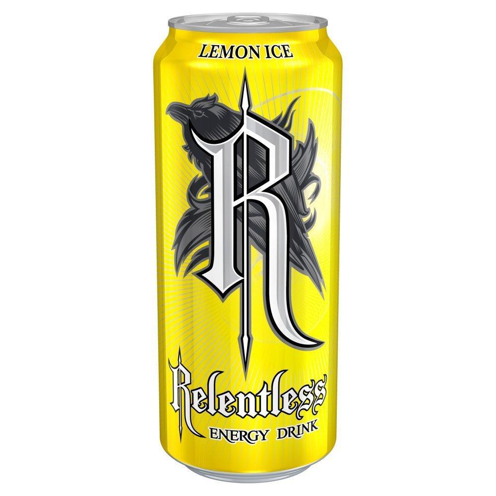 Relentless Lemon Ice Energy Drink 500ml