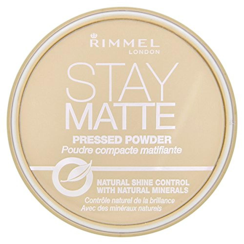 Rimmel Stay Matte Pressed Powder 14 g - Transparent