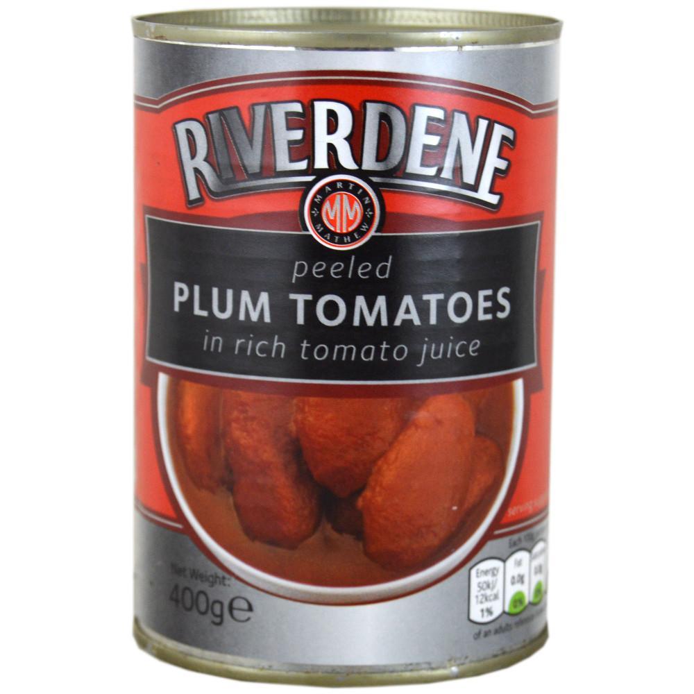 Riverdene Plum Tomatoes 400g