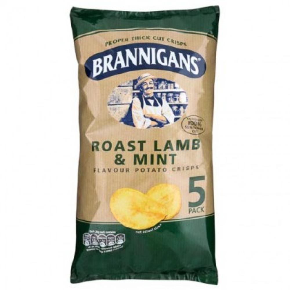 Brannigans Roast Lamb and Mint Flavour 5 x 28g