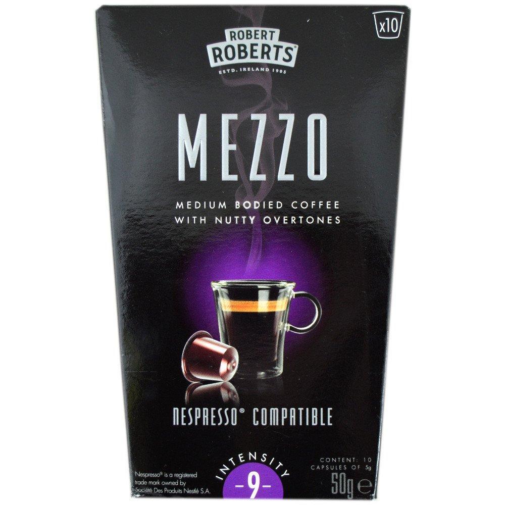Robert Roberts Mezzo Coffee Capsules 50g 9 pack