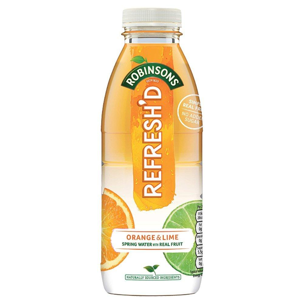 Robinsons Refreshed Orange and Lime 500ml