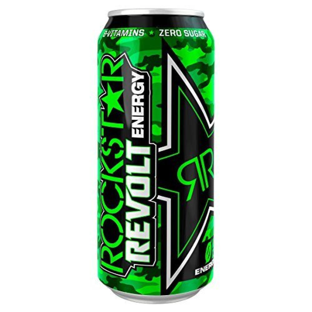 Rockstar Revolt Energy Drink Killer Citrus 500ml