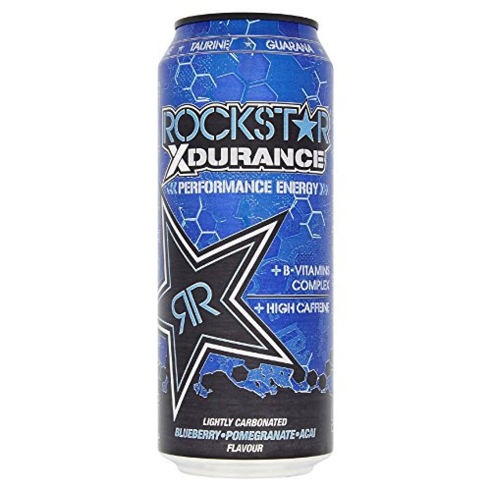 Rockstar Xdurance Blueberry Pomegranate and Acai Flavour Drink 500 ml