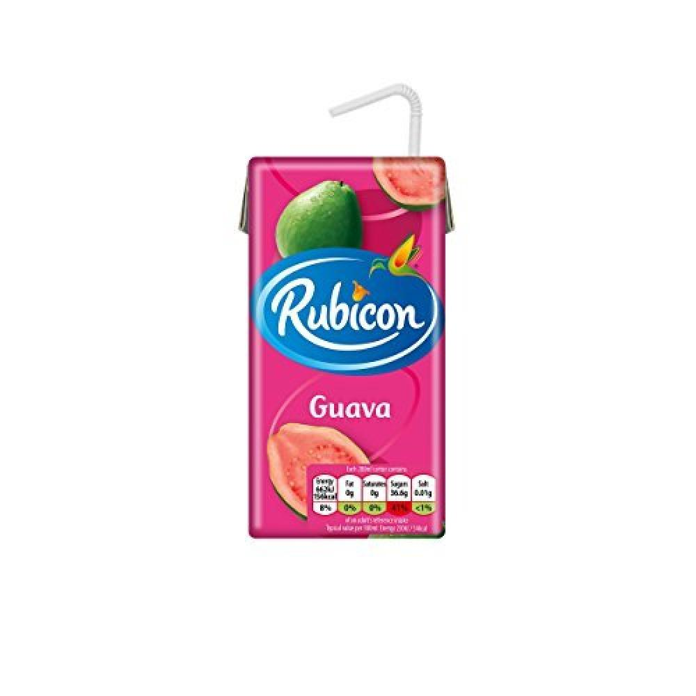 Rubicon Still Guava Juice Drink Cartons 288ml