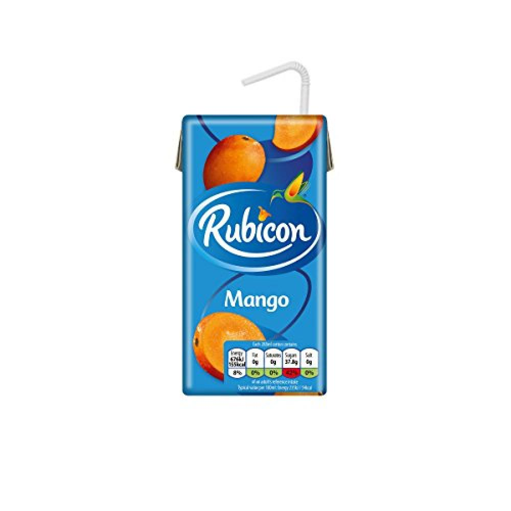 Rubicon Still Mango Juice Drink Cartons 288ml