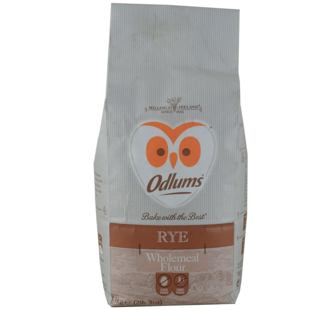 FURTHER REDUCTION  Odlums Rye Wholemeal Flour 1kg