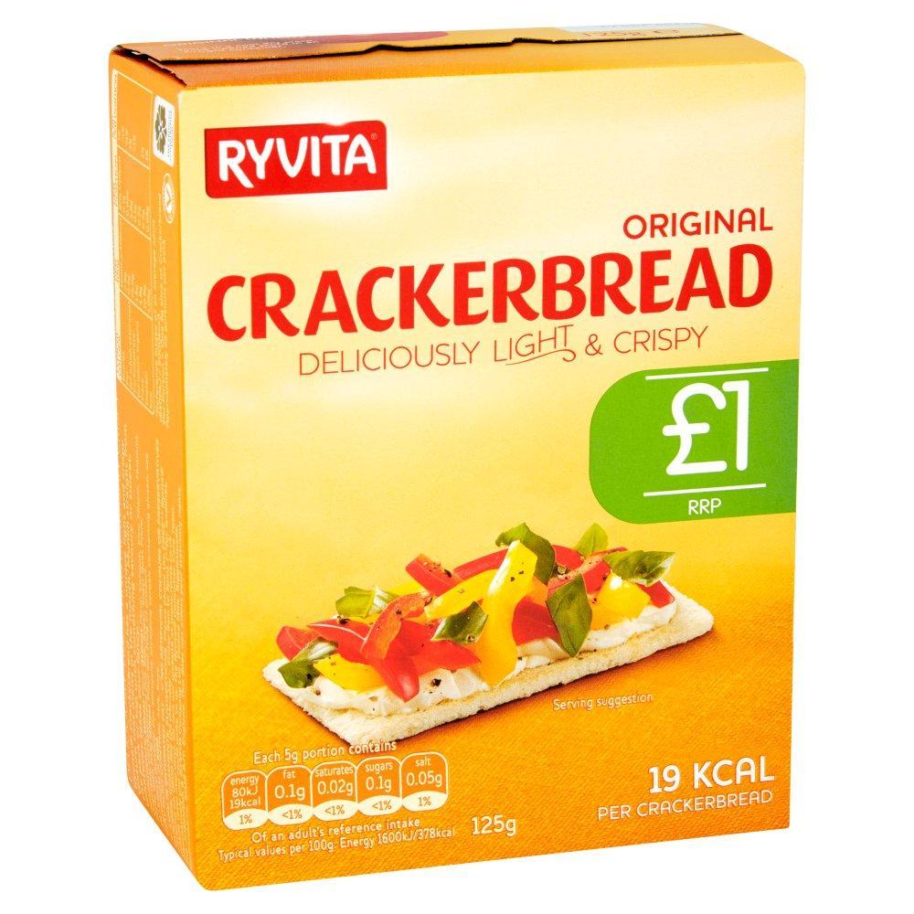 Ryvita Crackerbread 125g