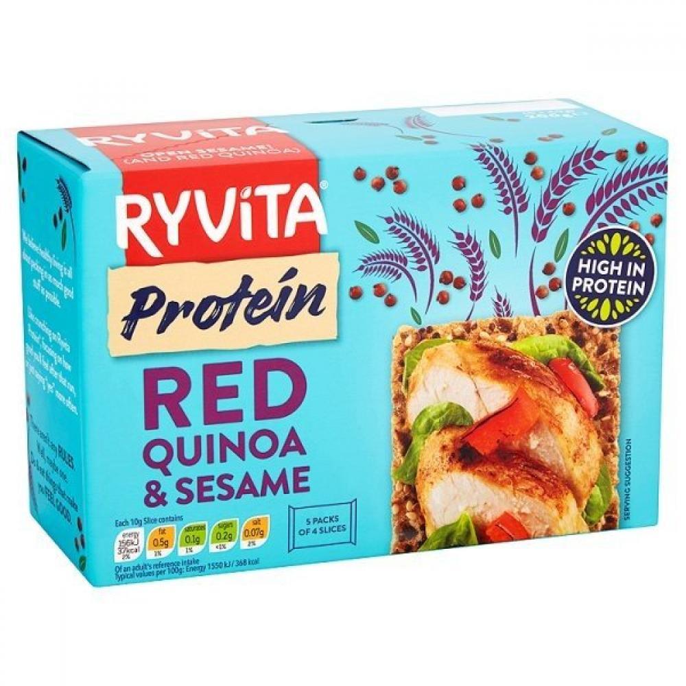 Ryvita Protein Red Quinoa and Sesame Crispbread 200g