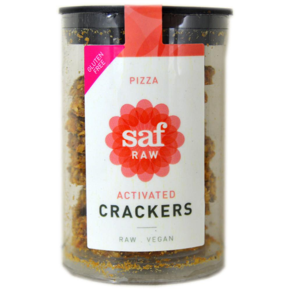 Saf Raw Pizza Crackers 50g