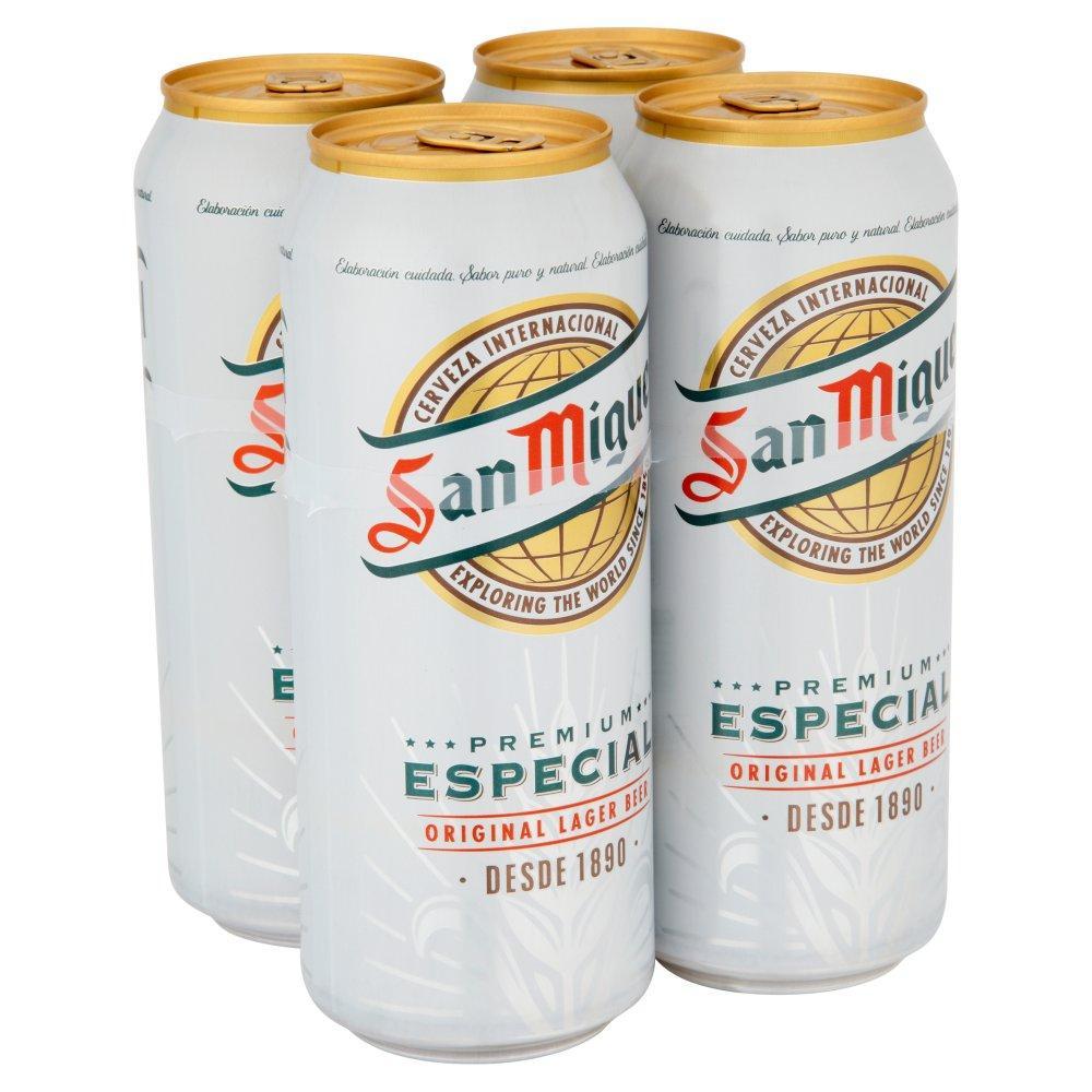 San Miguel Premium Especial 500ml x 4
