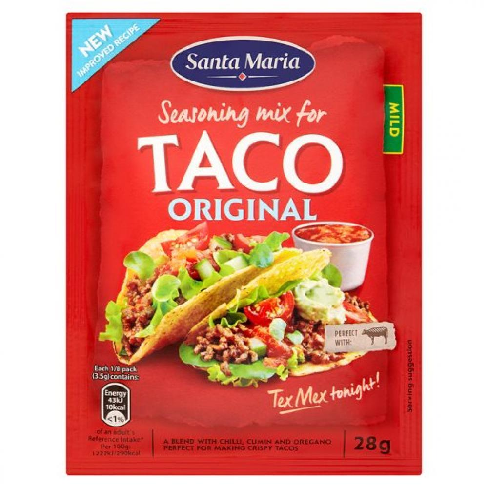 Santa Maria Taco Seasoning Mix 28g