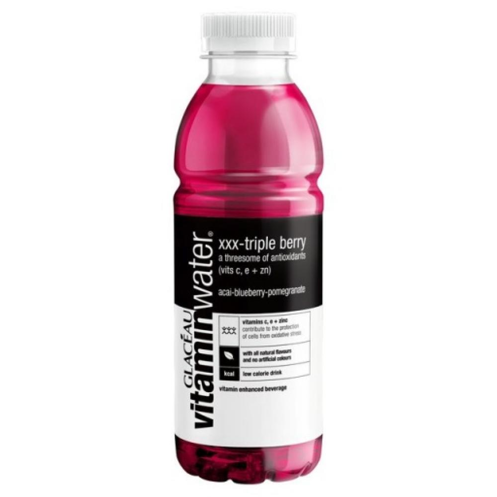 Glaceau Vitamin Water XXX Triple Berry 500ml