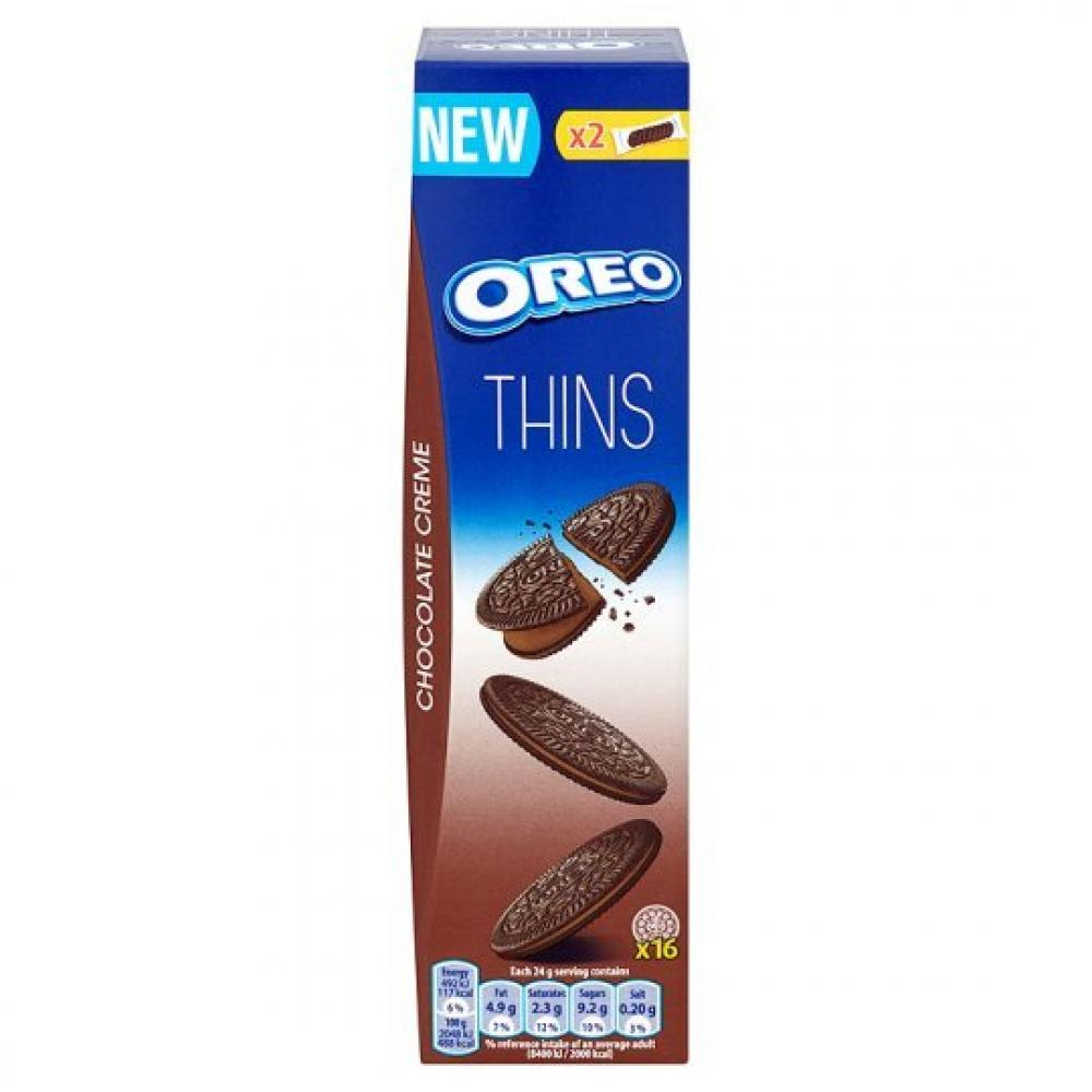 Oreo Thins Chocolate Creme 96g