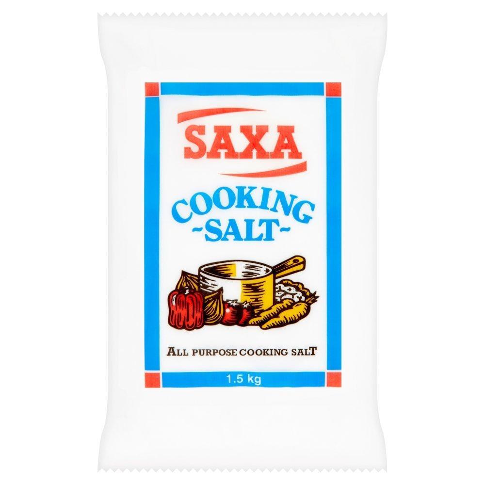 Saxa Cooking Salt 1.5kg