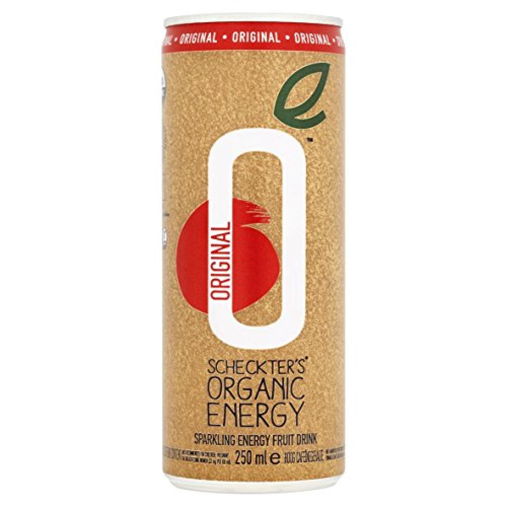 Scheckters Organic Energy Drink 250ml