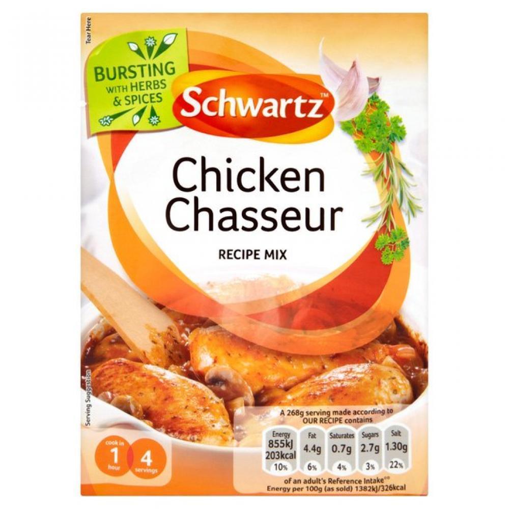 Schwartz Chicken Chasseur Recipe Mix 40g