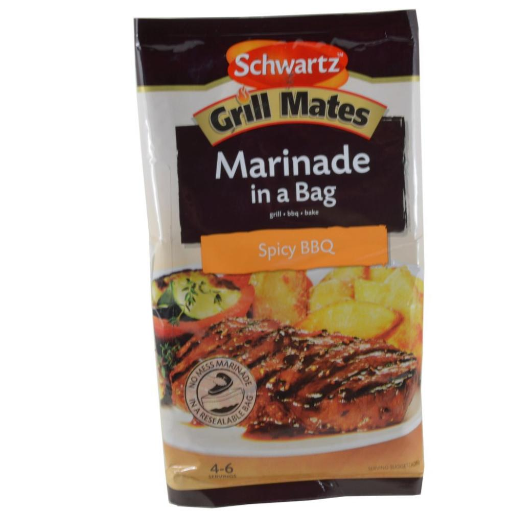 Schwartz Grill Mates Marinade In A Bag Spicy BBQ 200g